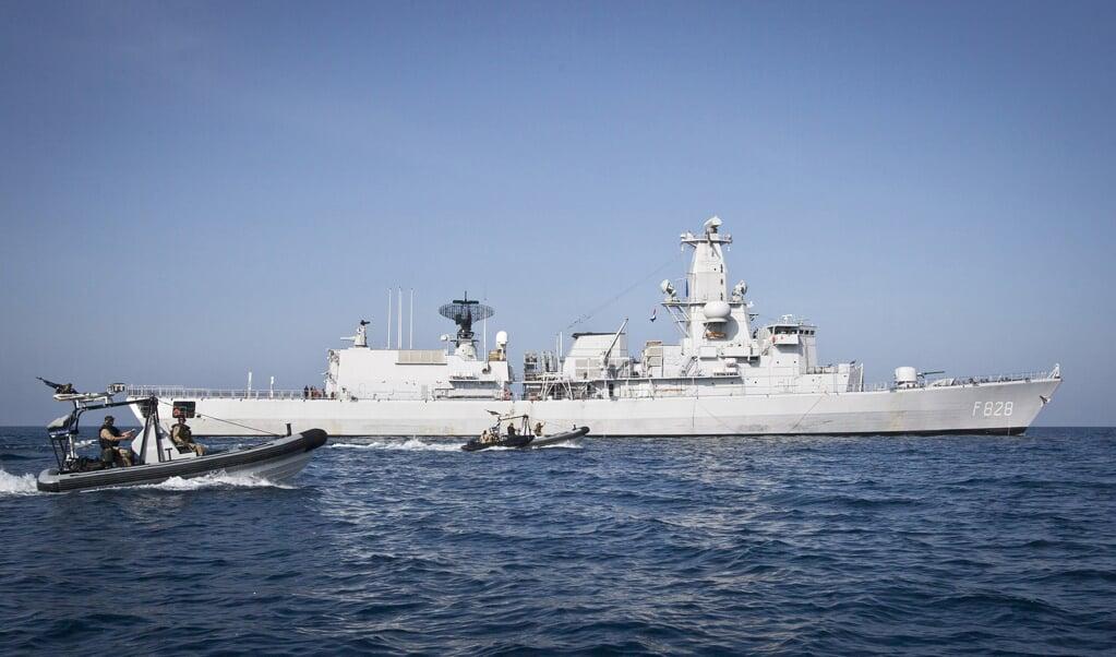 Het fregat Zr.Ms. Van Speijk gaat vanaf komende zomer uit de vaart.   (beeld mediacentrum defensie)