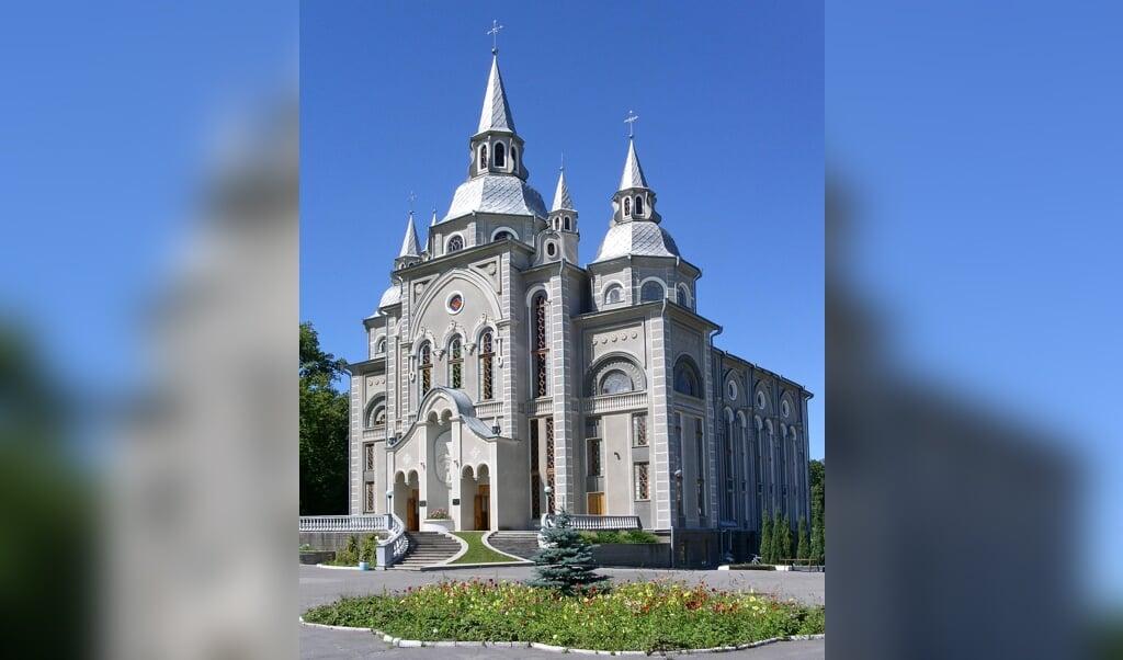 Baptistenkerk in de Oekraïense stad Vinnitsa.  (beeld wikimedia)