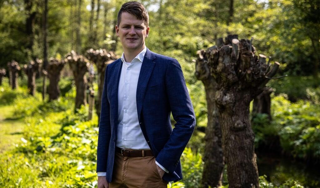 Gertjan Schutte, de jongste biograaf van Groen van Prinsterer: 'Groen is veelzijdiger dan ik dacht.'  (beeld Ron Beenen)