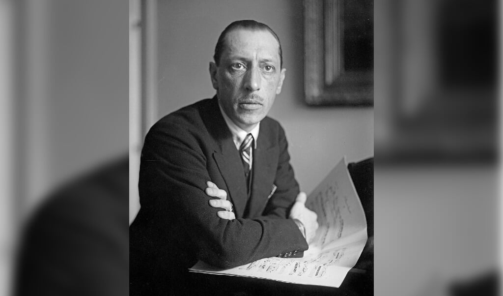 Igor Stravinsky  (beeld wikipedia)