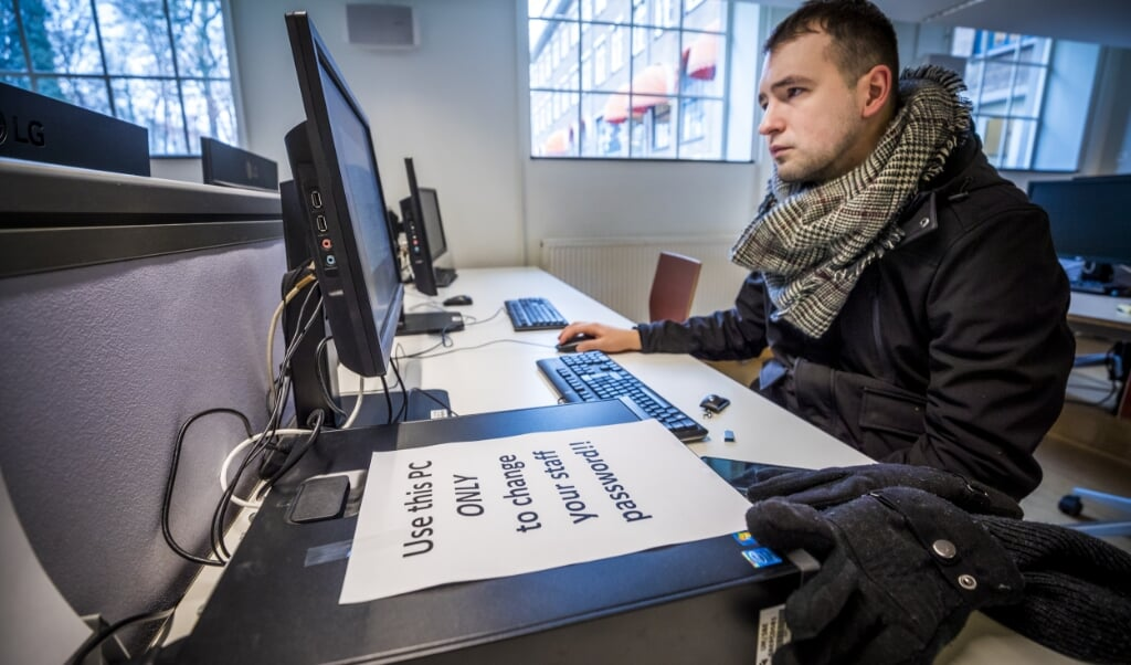 De universiteit van Maastricht werd vorig jaar slachtoffer van een cyberaanval.  (beeld anp / Marcel van Hoorn)