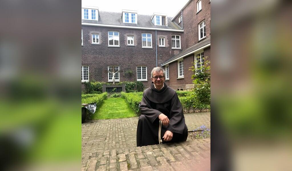 De Franciscaan Fer van der Reijken.  (beeld Franciscanen)