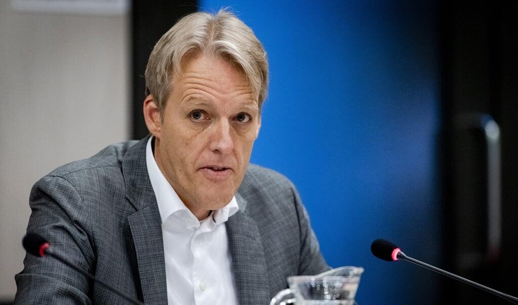 NAM-directeur Johan Atema.  (beeld anp / sem van der wal)