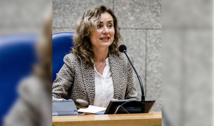Kamervoorzitter Vera Bergkamp  (beeld anp / Remko de Waal)