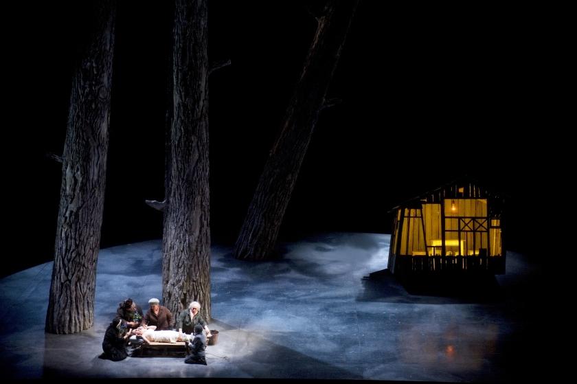Russische Liturgische opera in Muziektheater