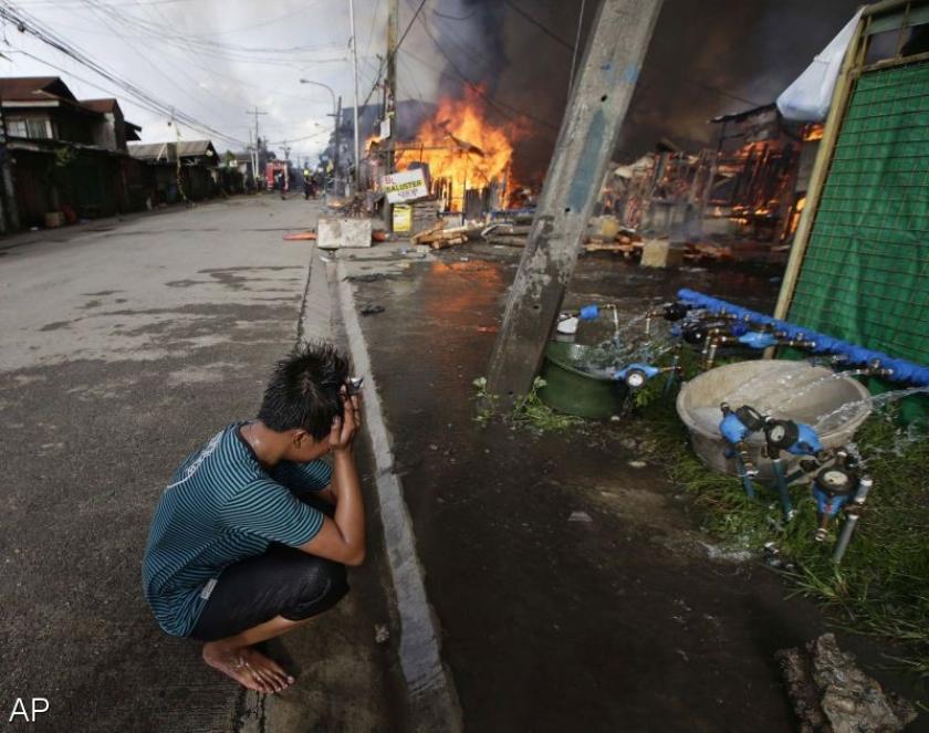Moslimrebellen Filipijnen vallen 2e stad aan