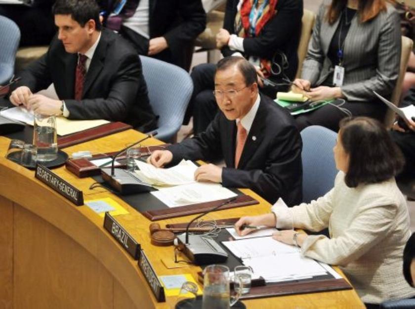VN neemt alle noodzakelijke maatregelen