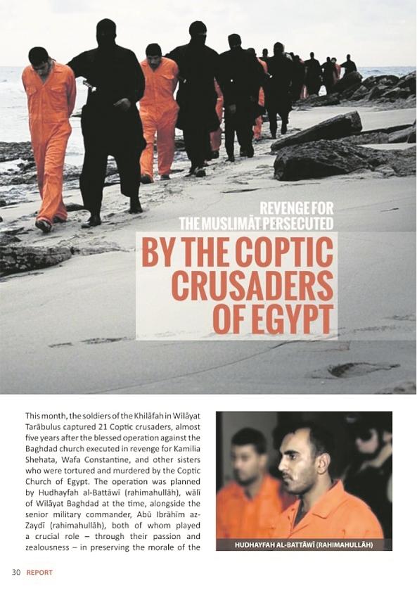 ISIS kiest kopten als doelwit