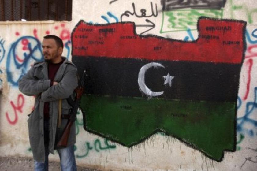 Fransen openen vuur in Libië