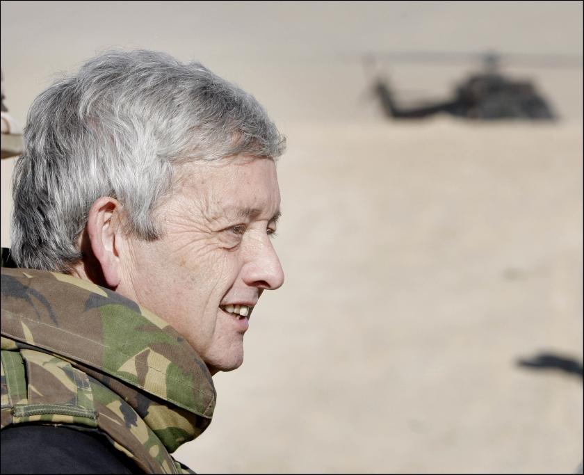 Minister van Middelkoop: 2009 wordt zwaar jaar