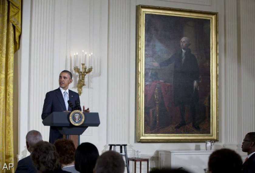 Obama staat stil bij moord op joden