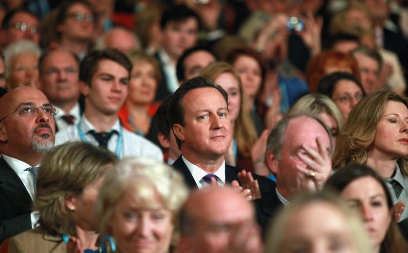 Cameron speelt begrotingsspel EU hard