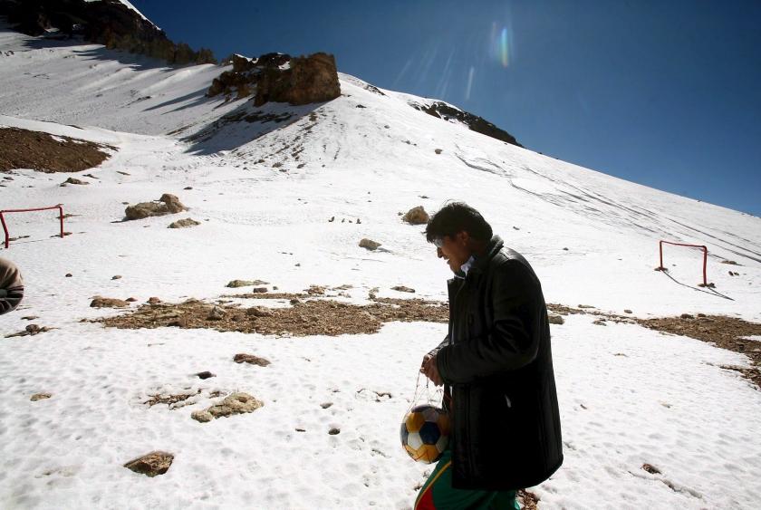 Peru wacht wateroorlog door smelten gletsjers
