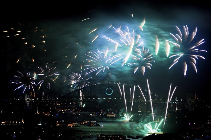 Eiland verwelkomt 2010 als eerste