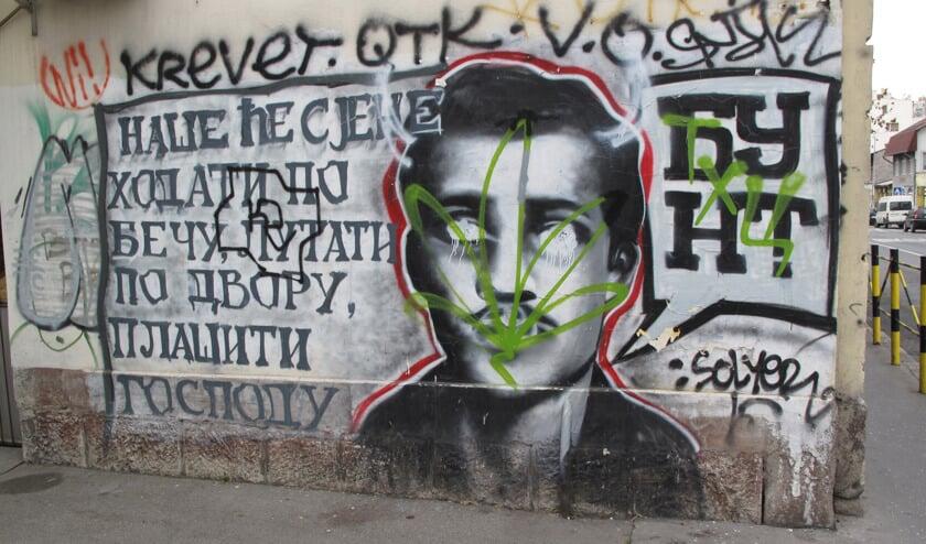 Standbeeld voor moordenaar Gavrilo Princip
