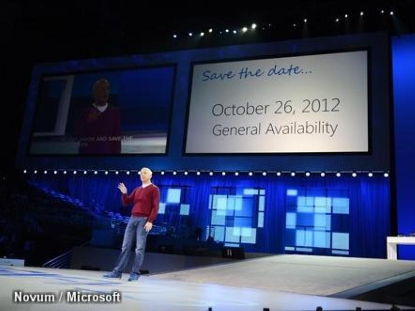 Windows 8 eind oktober verkrijgbaar