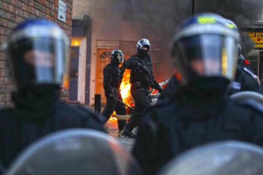 16.000 agenten straat op in Londen