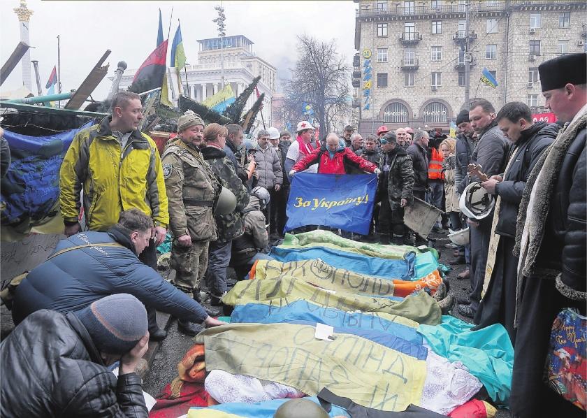 EU stelt sancties in tegen Oekraïne