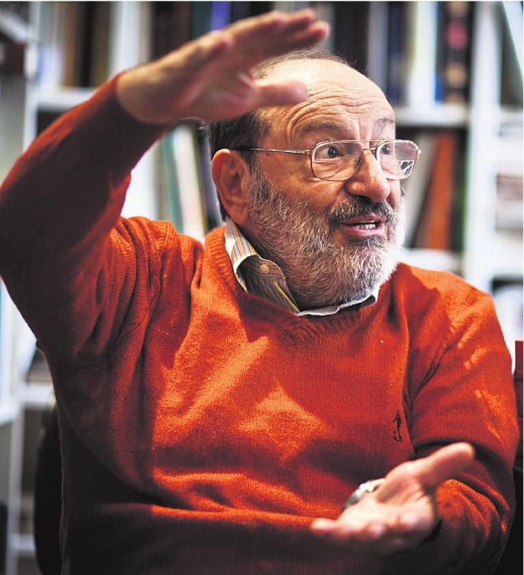 Umberto Eco houdt geen maat