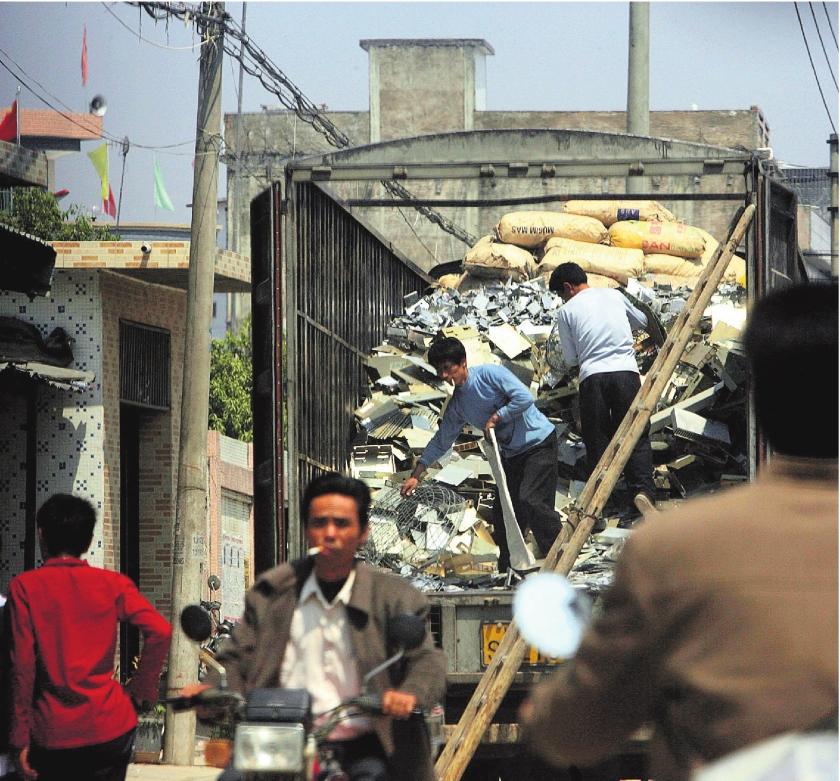 Ziek van het afval