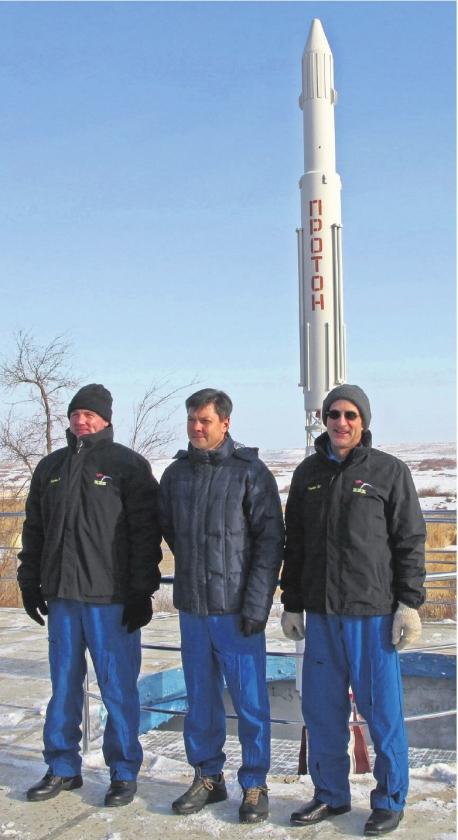 Kuipers proefpersoon in de ruimte