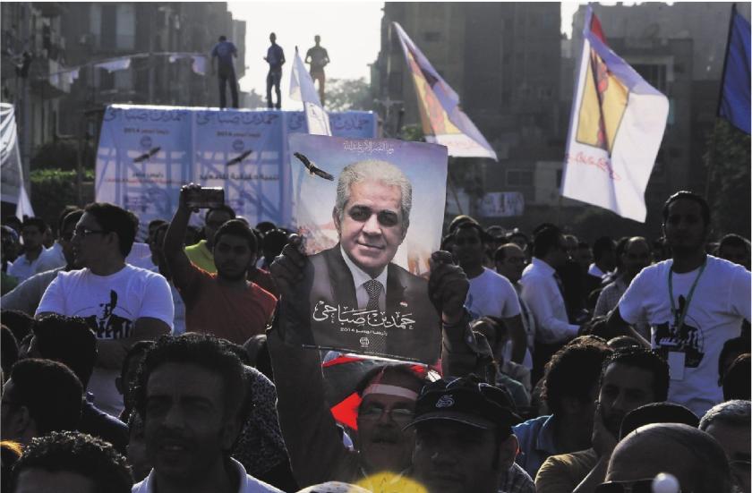 Ook christenen voor Al-Sisi