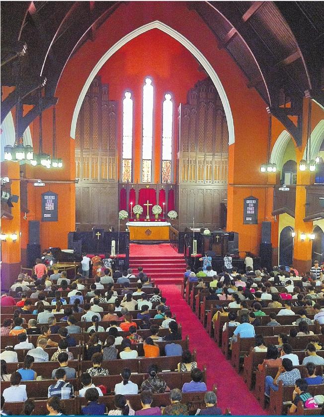 Chinezen vinden rust in de kerk