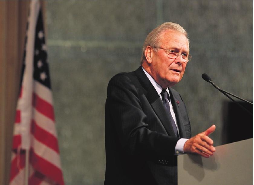 Sneeuwkanon Rumsfeld