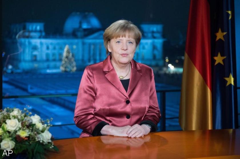 Merkel haalt uit naar anti-islambetogers