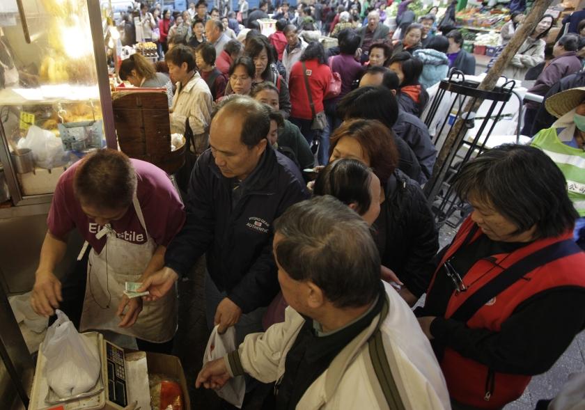 Chinees hamstert zout om dreigende kernramp