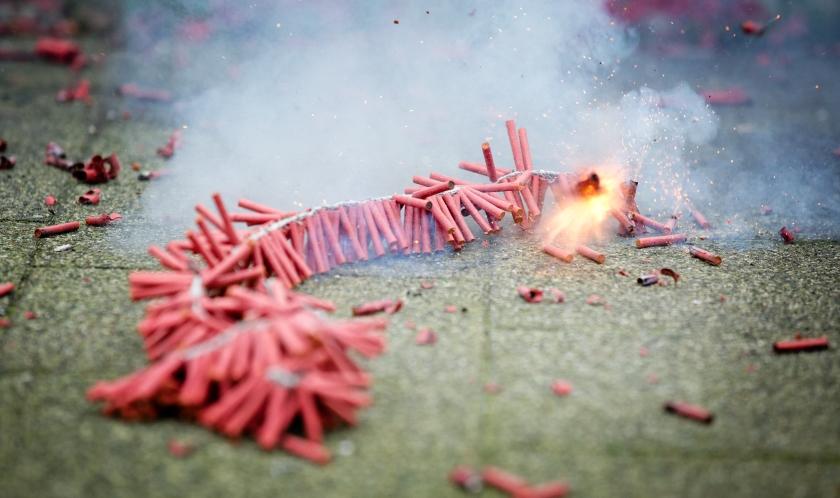 Vuurwerk: meer klachten dan giften