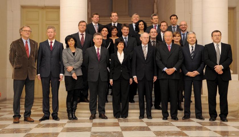 Nieuwe Belgische regering beëdigd