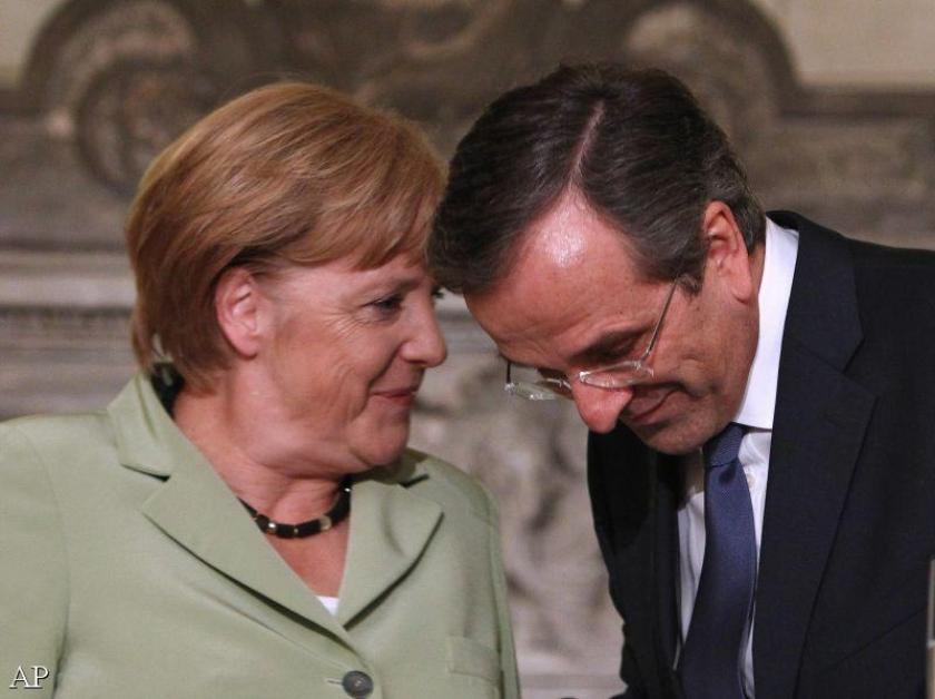 Griekse premier naar Duitsland