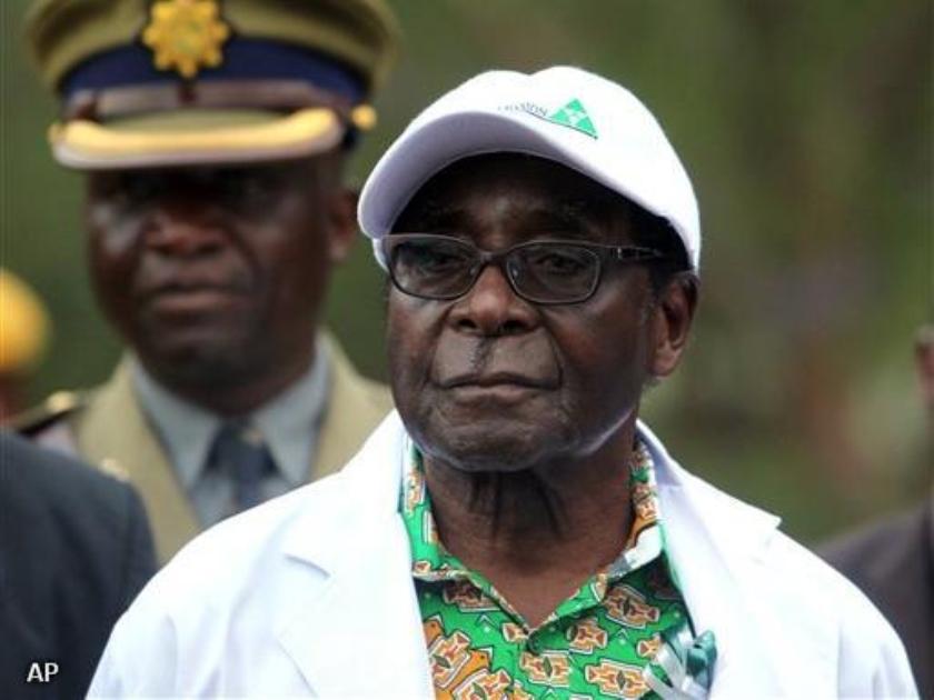 Mugabe boos op AU