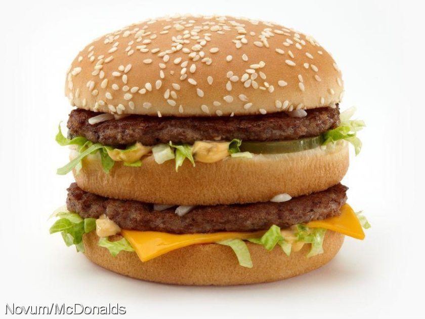 McDonalds verkoopt minder burgers