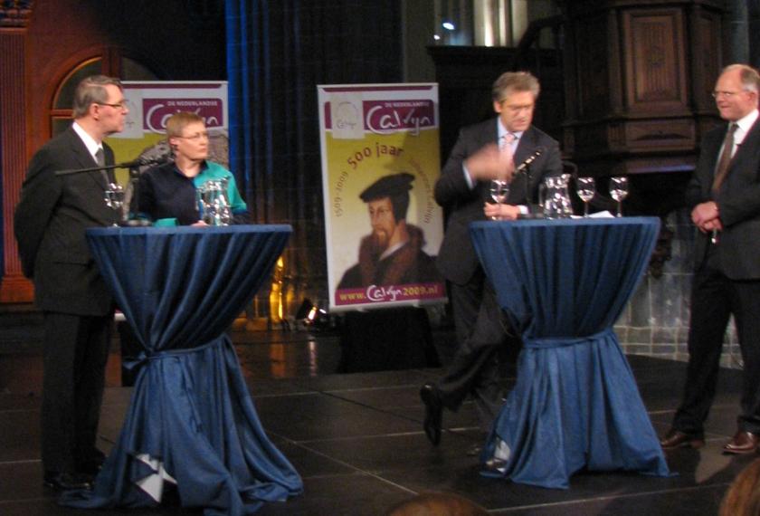 >| Bekijk het derde debat: de stoere Calvijn