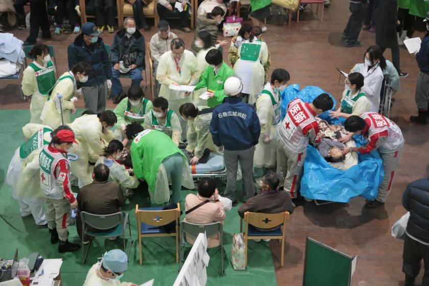 Verdelen Japans hulpgeld gaat moeizaam