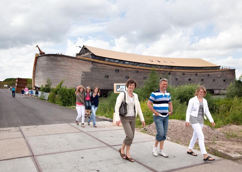 Noach-website voor zoekers na bezoek ark