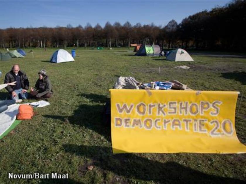 Occupy Den Haag moet inpakken