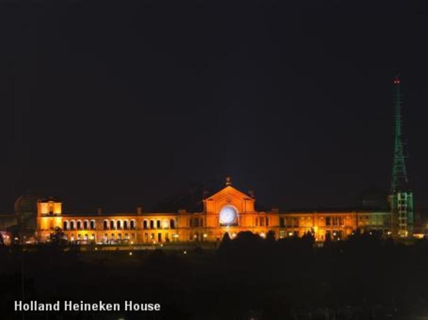 100 duizend bezoekers Holland House