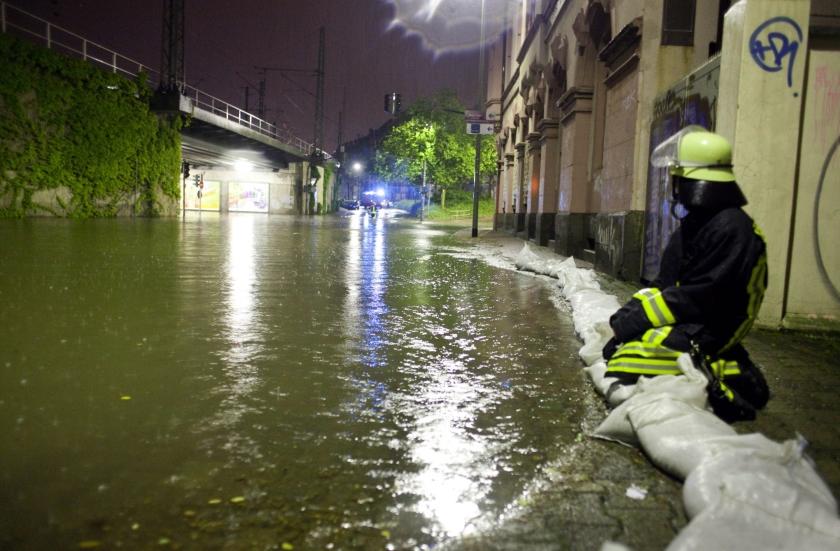 Schade en gewonden door noodweer Duitsland