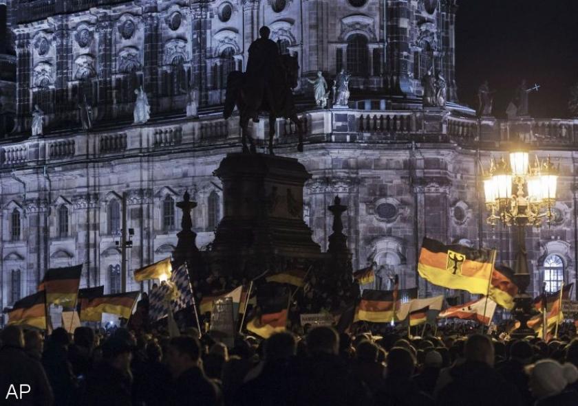 Duizenden bij anti-islamdemonstratie Dresden