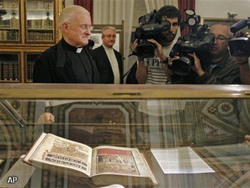 Eeuwenoud manuscript teruggevonden