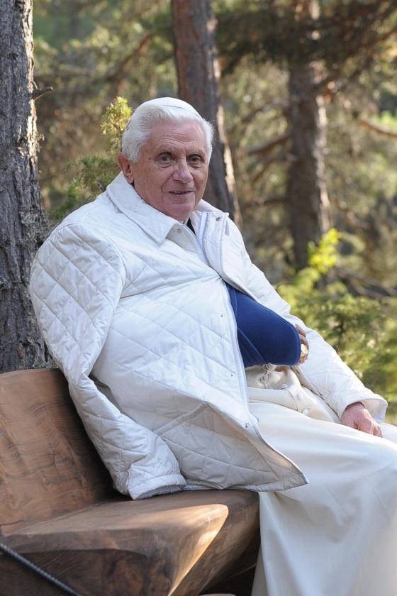 Paus weer aan de slag