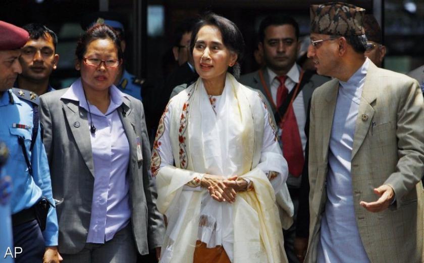 Presidentschap blijft onbereikbaar voor Suu Kyi