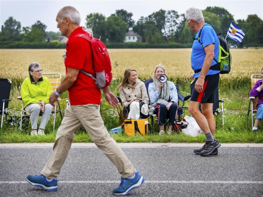 Fotoverslag: 44.702 lopers begonnen aan de Nijmeegse Vierdaagse