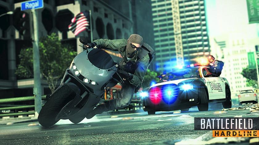 Game: Strijd tegen corrupte agenten in Battlefield Hardline