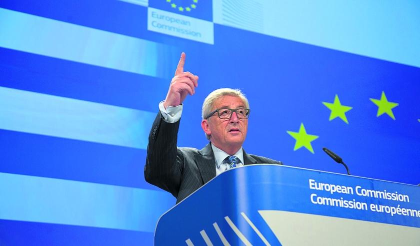 Juncker wil Grieks 'ja' bij referendum  (ap / Virginia Mayo nd.nl)
