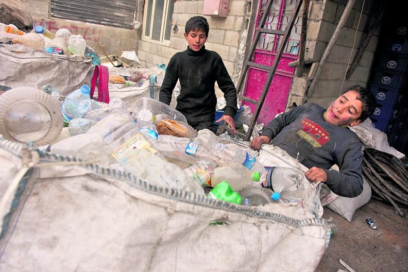 Geld voor hulp aan Syrische vluchtelingen is bijna op