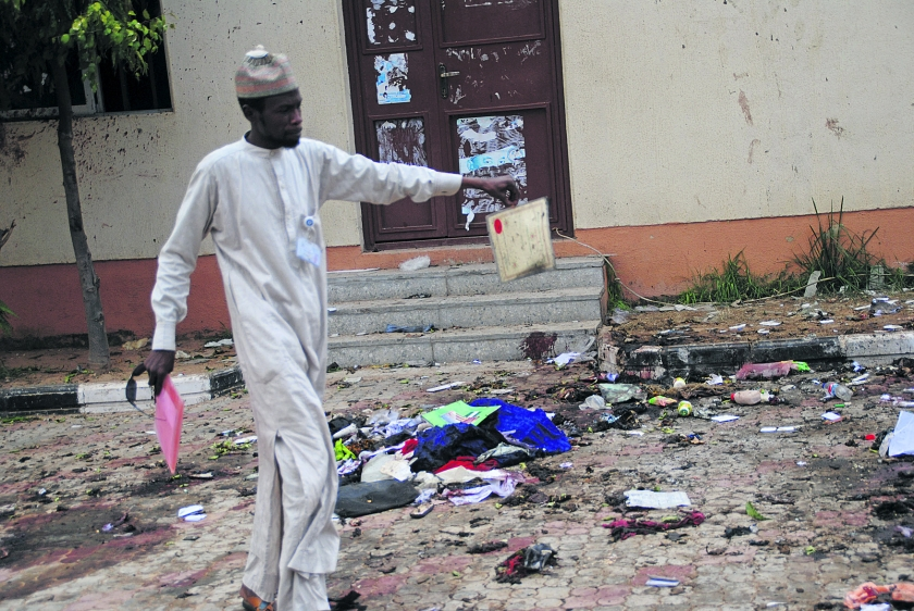 'Ontvoerde meisjes Chibok vrij na ruil met Boko Haram'  (ap)